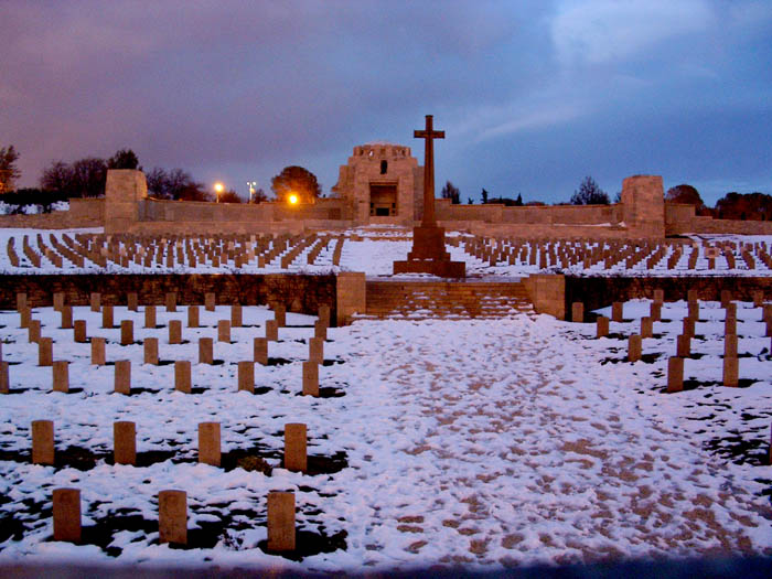 Allied cemetary in Jerusalem on French Hill