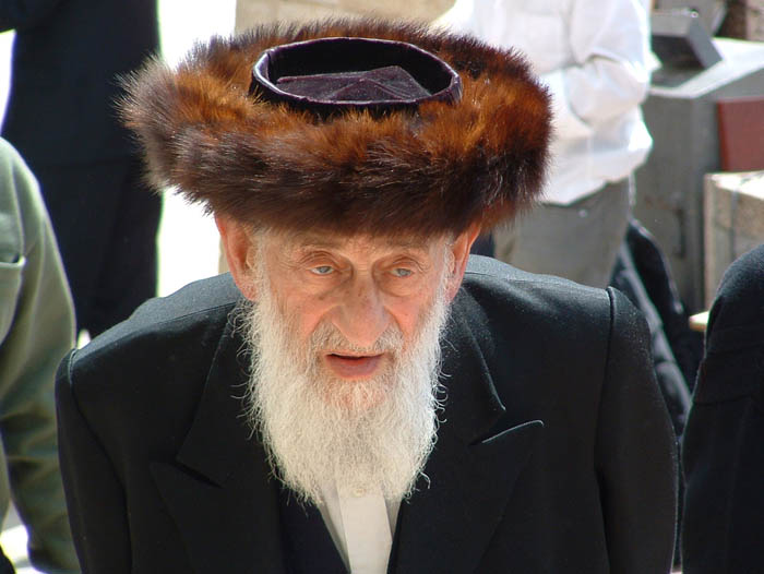 Orthodox Jew in the old city