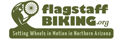 Flagstaff Biking Organization graphic and link