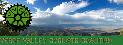 Verde Valley Cyclist Coalition graphic and link