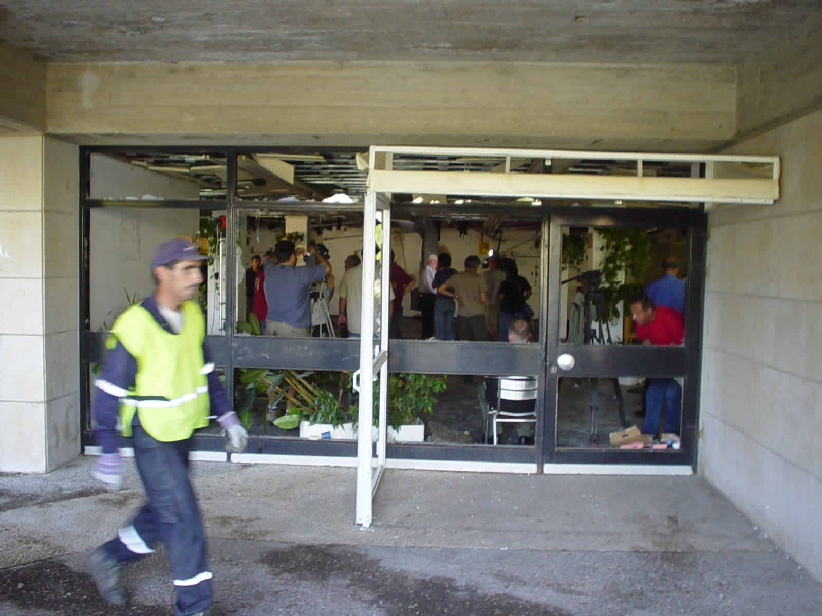 Bombing at Frank Sinatra cafateria picture